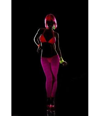 Blacklight legging hot pink