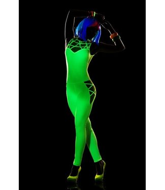 Hot green jumpsuit