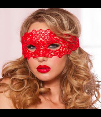 Rood oogmasker
