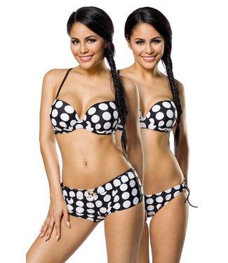 Push up bikini (dots)