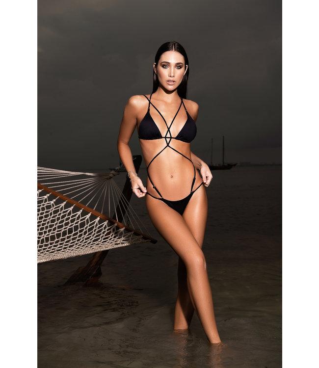 Mapalé Monokini/bikini zwart