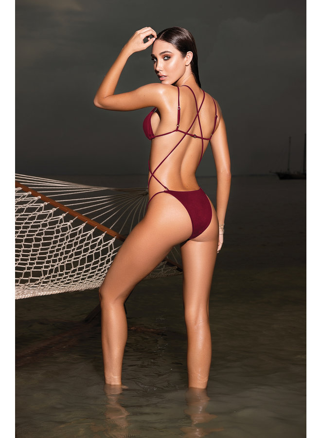 Monokini/bikini bodeaux