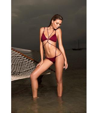 Mapalé Monokini/bikini bodeaux