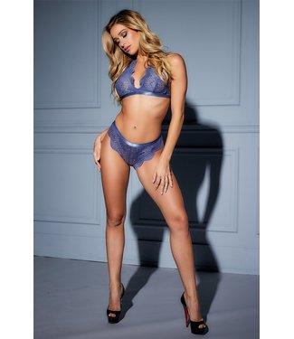Oh La La Cheri Luxe lingerie setje-blauw