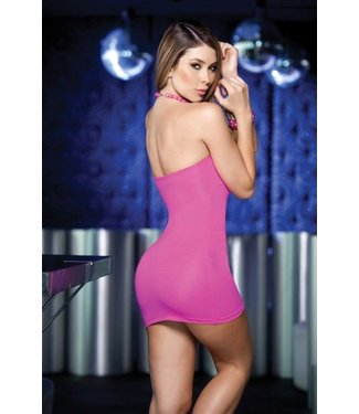 977361b5a10ba8 Espiral Lingerie Sexy strapless roze jurkje