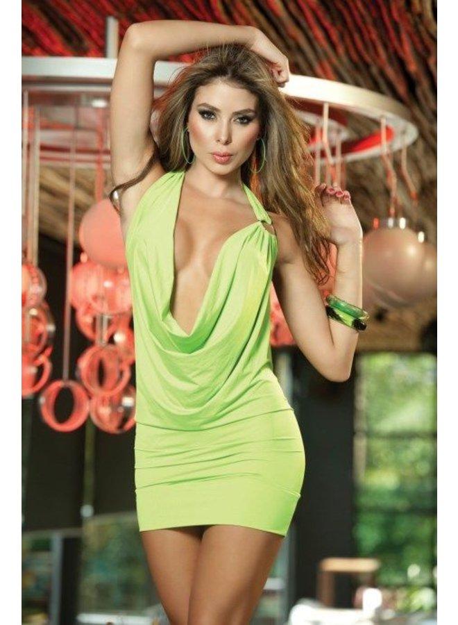 Sexy hot green waterval jurkje