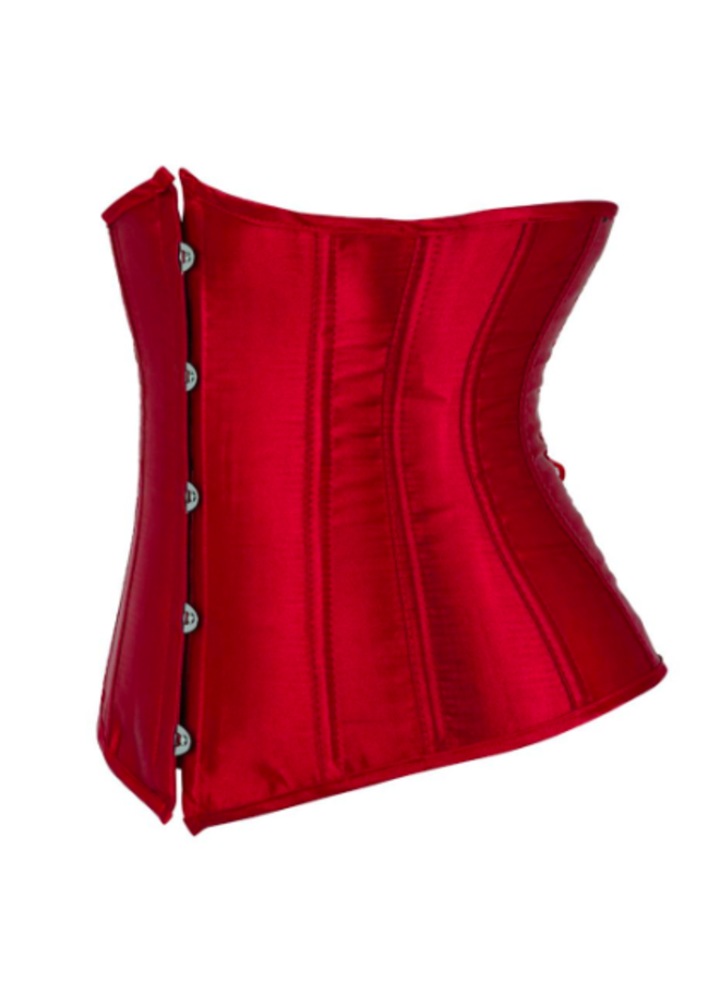 (Wijn)Rood underbust corset