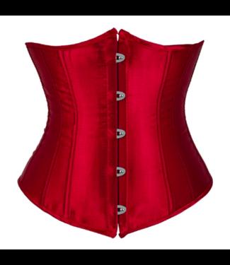 Plus size(Wijn)Rood underbust corset