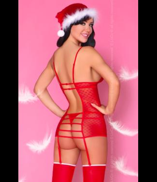LivCo Corsetti Kerst lingerie setje 'Gretchen'