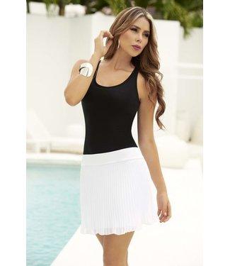 Elegante witte rok