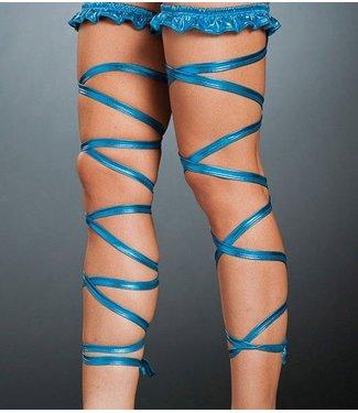 Been wrap metallic blue