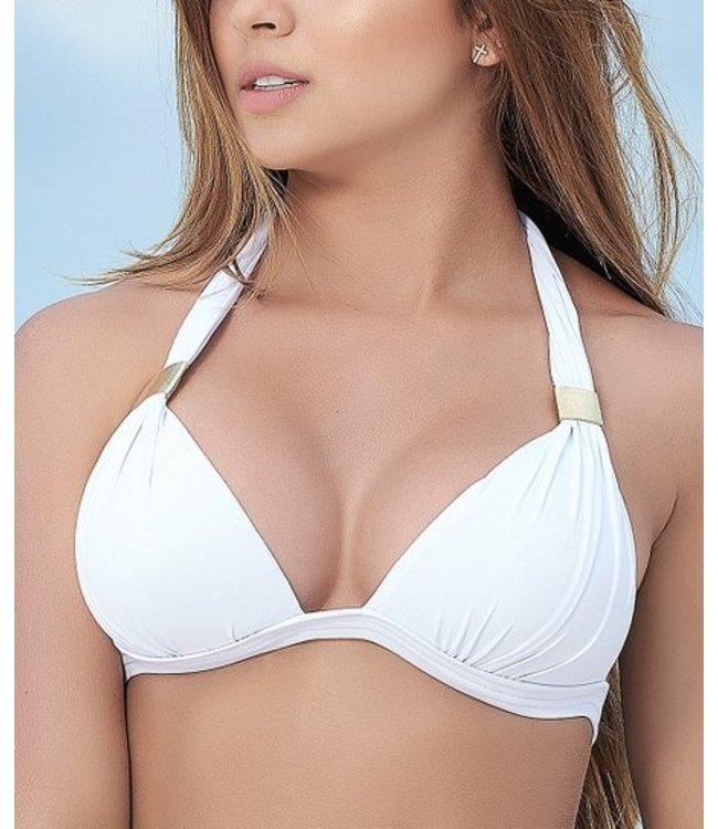 Mapalé Halter bikini top (wit)