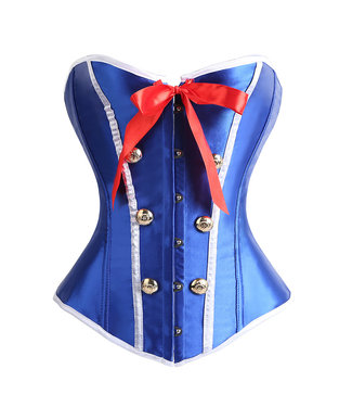Corsetten 'Sailor Girl' overbust corset