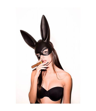 ClassyWear Zwart 'bunny' masker