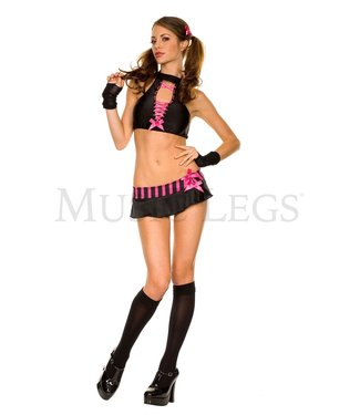 ClassyWear Hot school girl kostuum setje