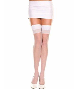 ClassyWear Witte kousen
