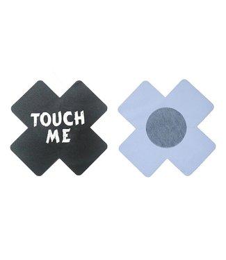 ClassyWear Zwarte tepelplakkers (touch me)