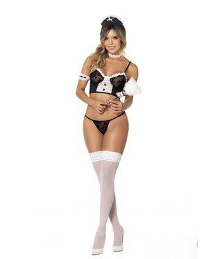 Mapalé Sexy maid kostuum/lingerie setje