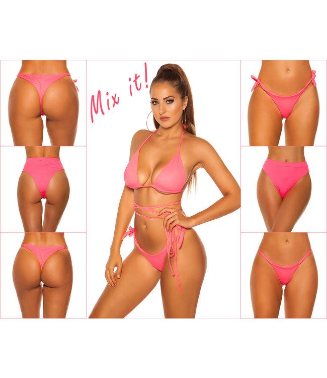 ClassyWear Mix it-Bikini top neon koraal