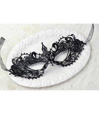 ClassyWear Zwart Venetiaans masker