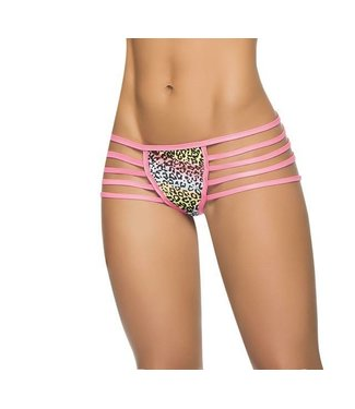 Espiral Lingerie Strappy panty (tiger print)