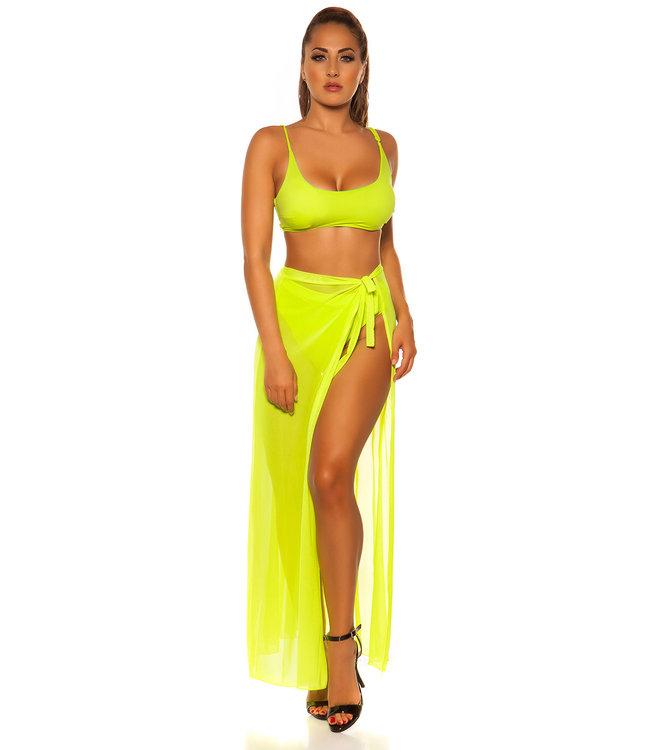 ClassyWear Mix it! Neon gele sarong