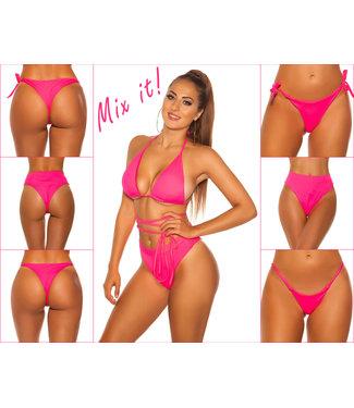 ClassyWear Mix it-Bikini top neon pink