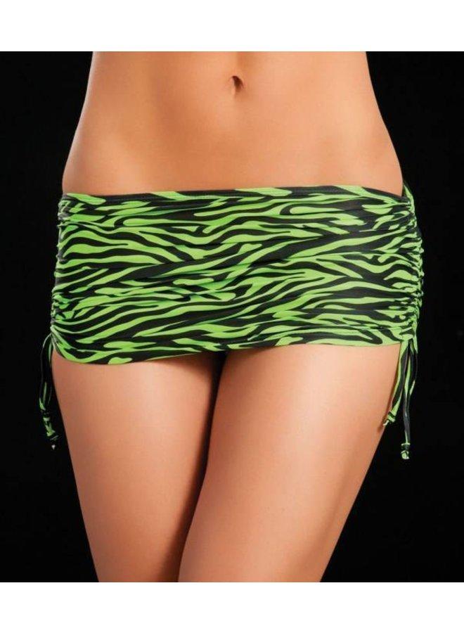 Verstelbaar rokje (zebra green)