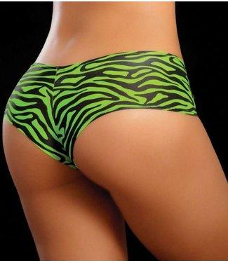 Boyshort (zebra green)