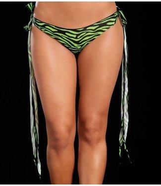 Mapalé Broekje lange sliert (zebra green)