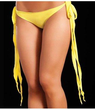 Broekje lange sliert (neon yellow)