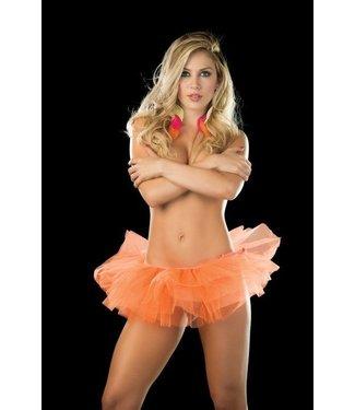 Espiral Lingerie Sexy tutu (orange)