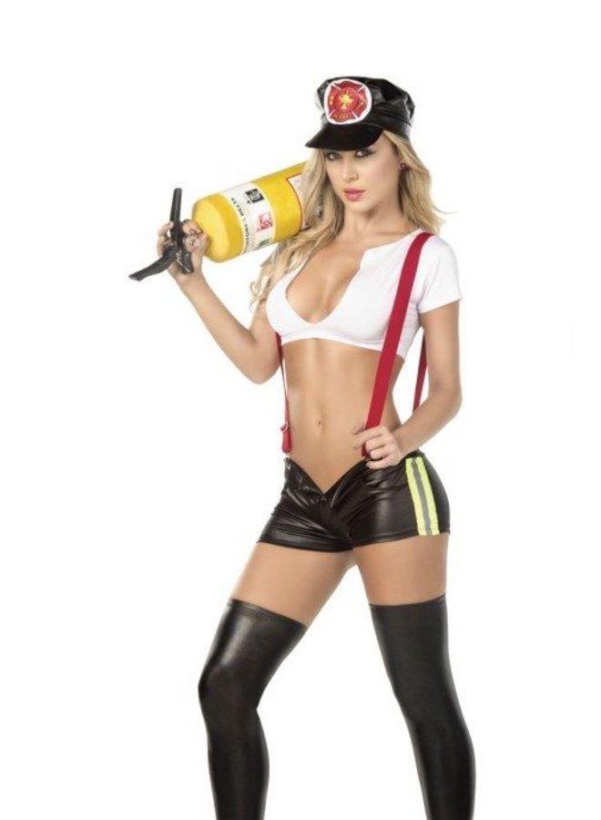 Sassy Hero Firefighter