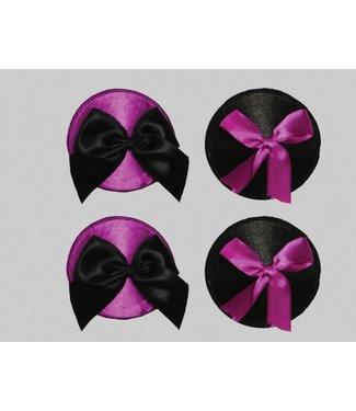 Oh La La Cheri 2-sets tepelplakker zwart/paars