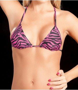 Mapalé Triangel top (zebra pink)