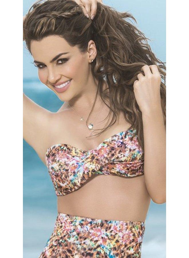 Bandeau bikini top (spring)