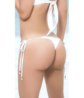 Espiral Lingerie String bikini broekje (wit)