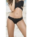 Mapalé Ruffle bikini broekje (zwart)