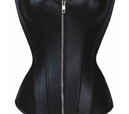 Leatherlook Corsetten