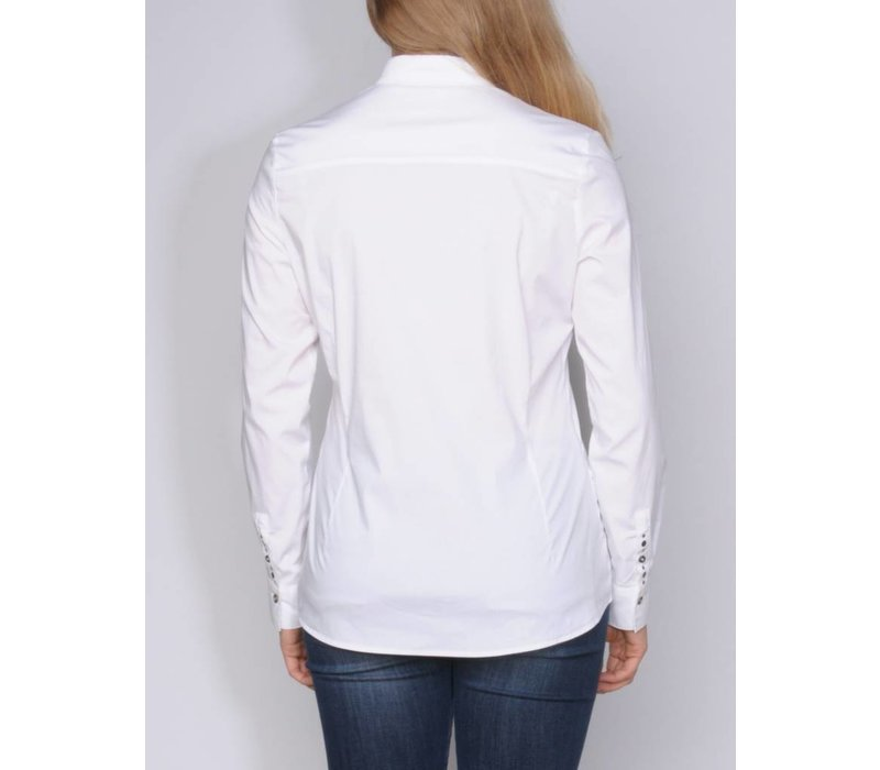 bluse CARMINDA white
