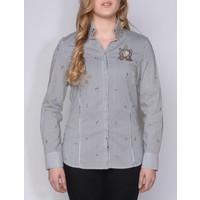 blouse CESARA white-black