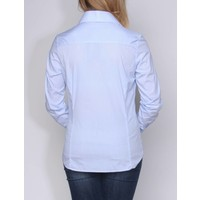 bluse CHARO skyblue-white