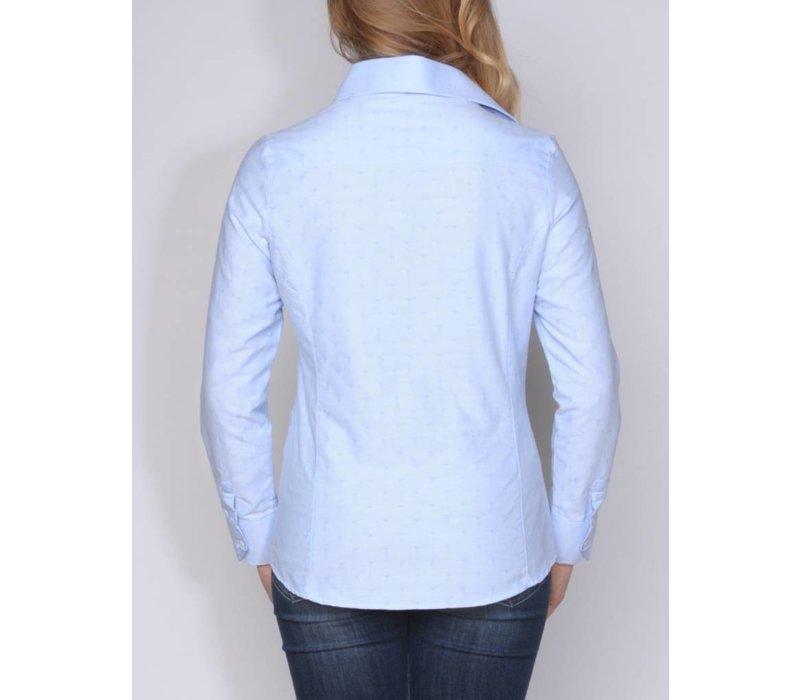 blouse CHRYSANNA I skyblue