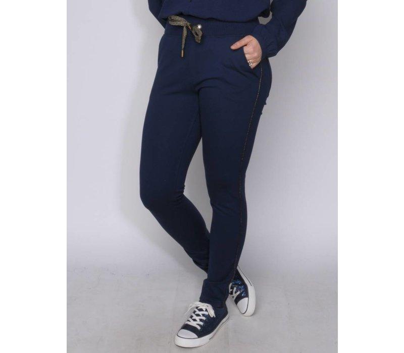 pantalon HENRIQUA midnight navy