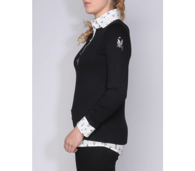 sweater JOSUNE black