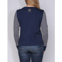 sweater JOVINA m.navy-grey