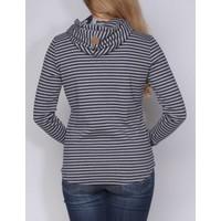 sweater JUANA m.navy-grey