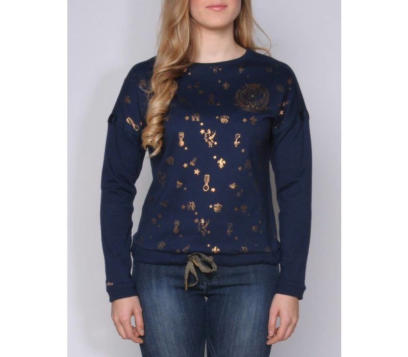 sweater JAVIERA midnight navy