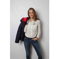 blouse CALIDA II wit-multi