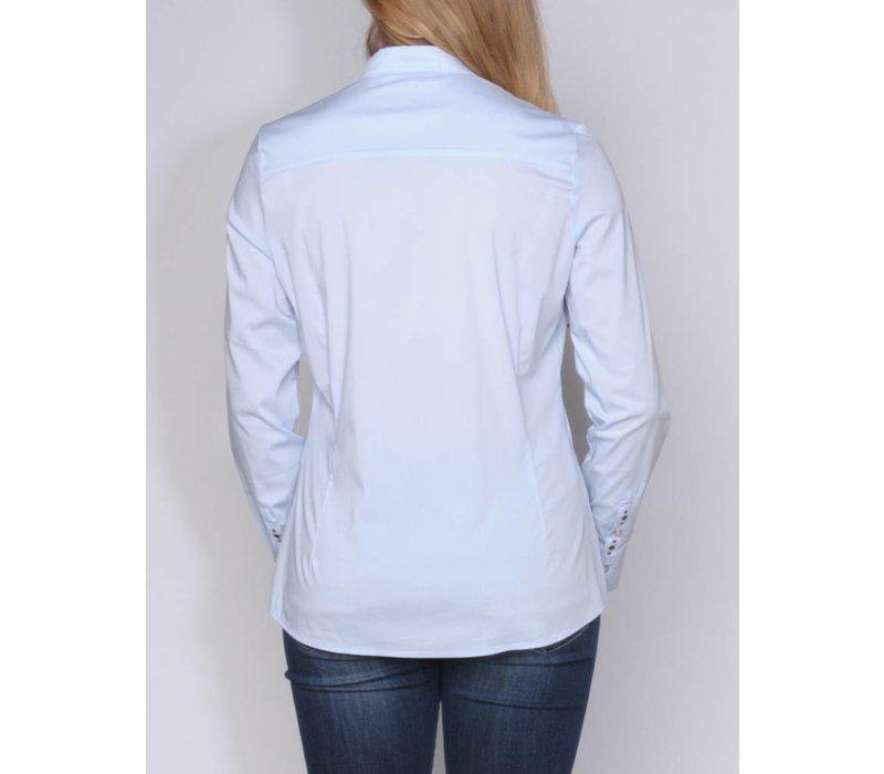 blouse CARMINDA skyblue